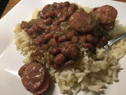 Authentic Cajun Red Beans and Rice