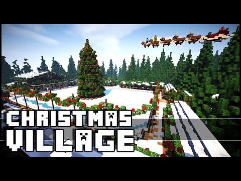 Minecraft - Christmas Village (Christmas Inspiration)