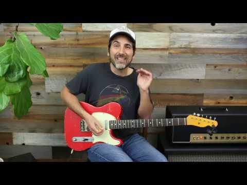 Lick Of The Day 55 - Angry Hard Rock Southern Blues Licks - Guitar Lesson - Soloing Tips