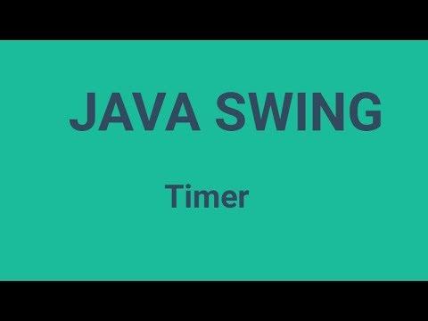 Java Swing Timer (javax.swing.Timer)