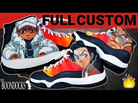 Full Custom | Boondocks Jordan 11's by Sierato