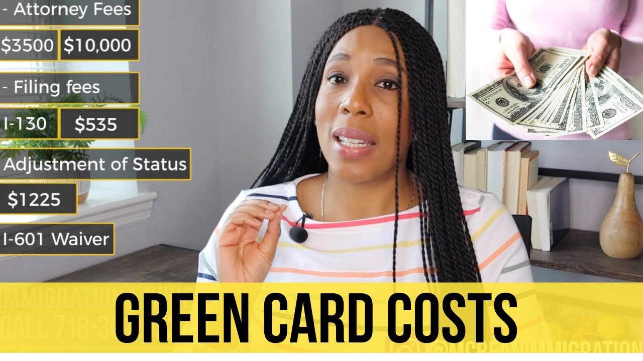 Green Card Cost $5,000 to $12,000? What You Should Know!