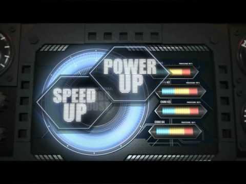Intel Turbo Boost Animation   2D version