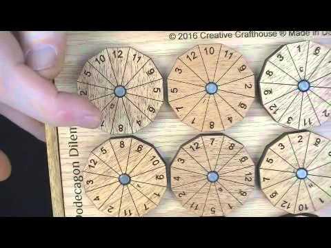 Dodecagon Dilemma puzzle