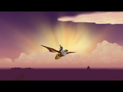 Flying over Nagrand (Warlords of Draenor Beta)