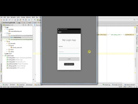 Android Login Application With MSSQL Server Using JDBC