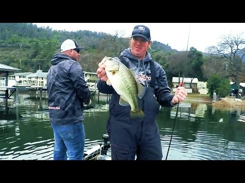 On The Water: Cold Front Jerkbait Fishing With TacticalBassin