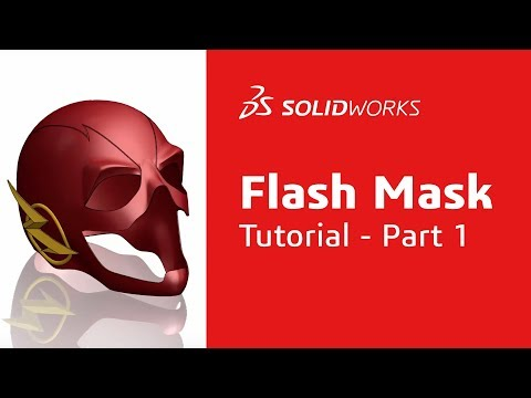 Flash Mask Tutorial: Part 1 - SOLIDWORKS