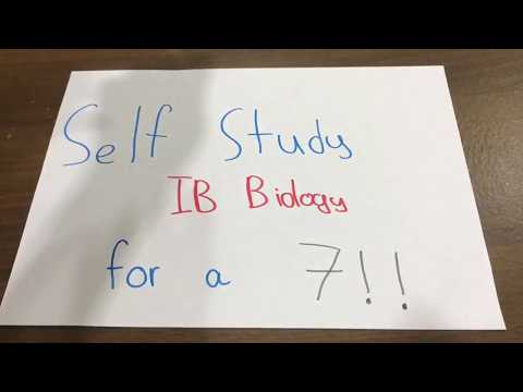 How to get a 7 in IB Biology with no teacher