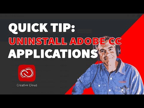 How To Uninstall & Re-Install Adobe CC Application