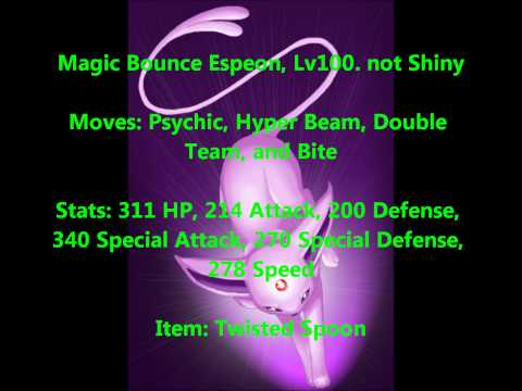 Specios the Espeon giveaway