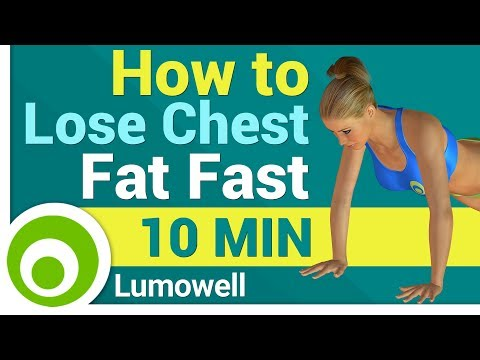 How to Lose Chest Fat Fast