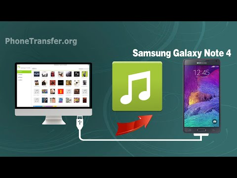 How to Import Music to Samsung Galaxy Note 4 on Mac, Sync Audio from Mac to Note 4