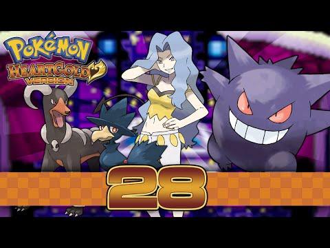 Pokemon HeartGold - Part 28 - Elite Four Karen!