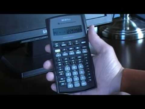 Bond calculations using the TI BAII Plus calculator