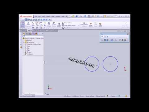 SolidWorks Tutorial Circle And Arcs