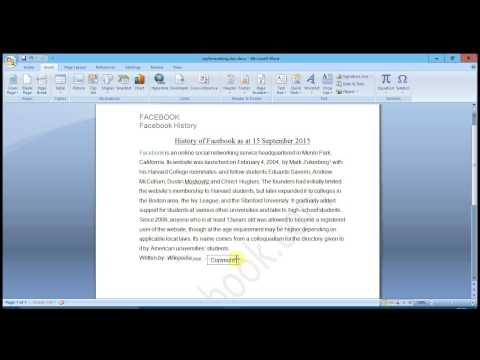 Microsoft word - drawing and adjusting arrow