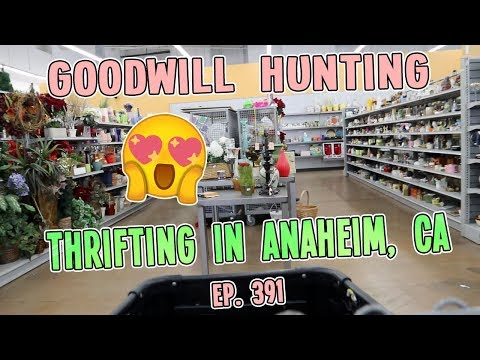 THRIFTING IN ANAHEIM, CA   GOODWILL HUNTING EP. 391
