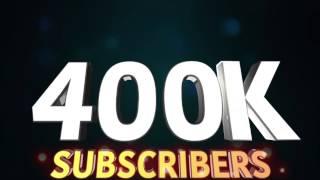 400k Subscribers!!