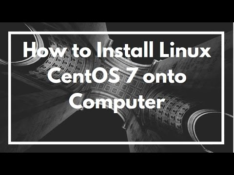 How to Install Linux CentOS 7. Quick and easy | VIDEO TUTORIAL