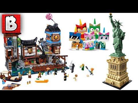 LEGO Ninjago City Docks, Unikitty Colletible Figs, Amazing Statue of Liberty | LEGO News