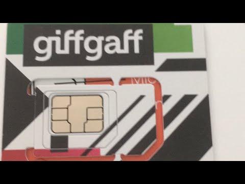 My GiffGaff SIM arrived