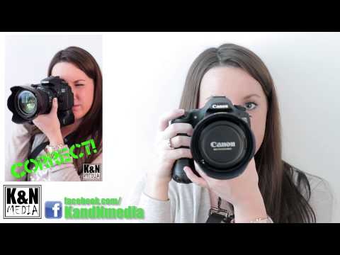How To: Properly Holding Your DSLR Camera