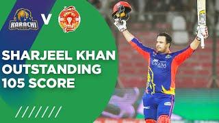PSL2021 | Sharjeel Khan Outstanding 105 Score | Karachi Kings vs Islamabad United | Match 6 | MG2T