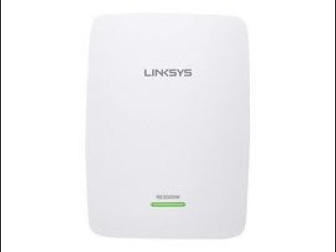 how to setup Linksys n300 RE3000w with main Router