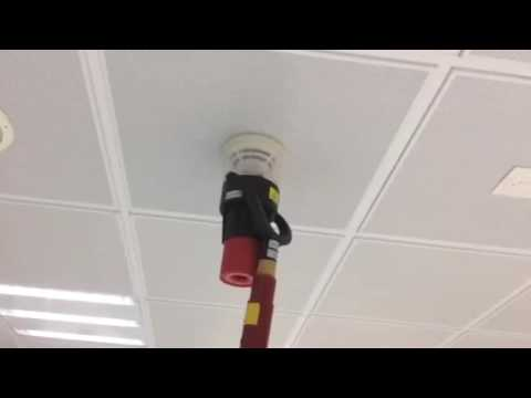 How to test smoke detector