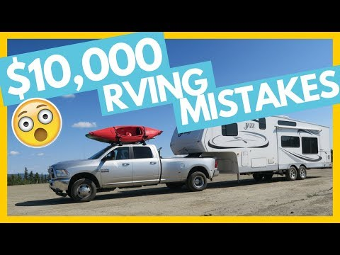 $10,000 Worth of RVing Mistakes