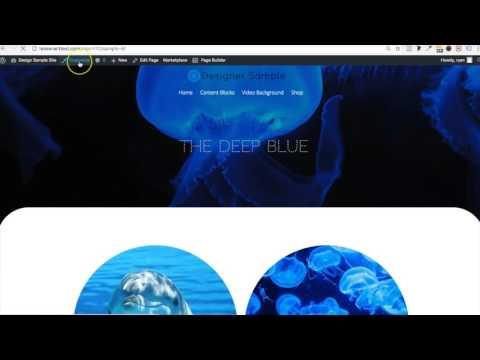 Header transparency (Tesseract Designer Theme)