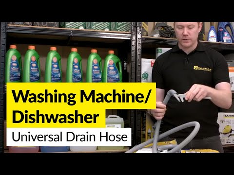 Universal Drain Hoses for Washing Machines and Dishwashers