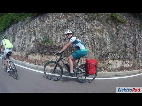 ElektroRad Bergtest 2016 am Mendelpass in Südtirol