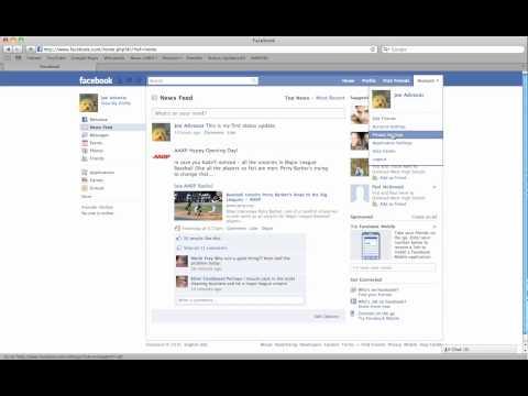 FB Privacy Settings