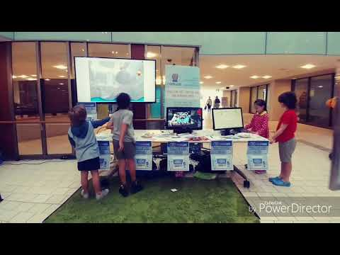 Coding Kids at Fun Palace event