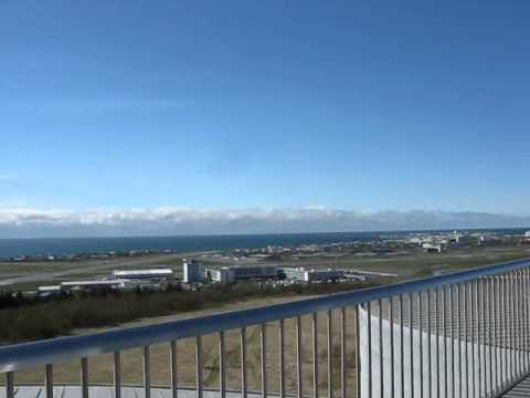Perlan - widoki na Reykjavík / Perlan - views of Reykjavík