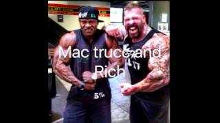 Rich Piana Vs Mac Trucc Fight Play By Play !!!