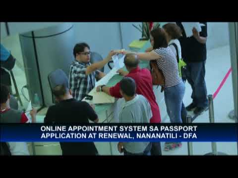 Despite new system, online appointment for passport application and renewal to remain