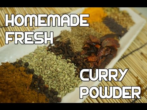 Curry Powder Recipe - Homemade Fresh Roasted - Indian