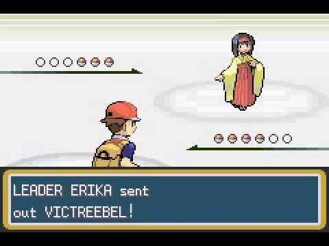 Pokemon Leaf Green - Erika