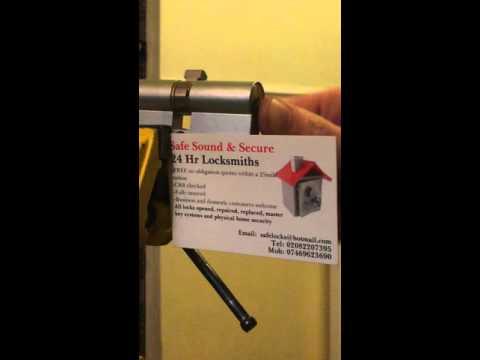 Picked assa f41m profile cylinder