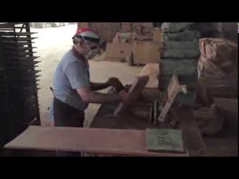 Making a Clay Roof Tile