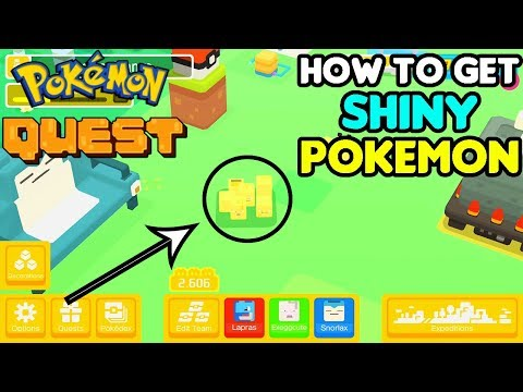 Shiny Pokemon in Pokemon Quest! (Simple) How to Guide