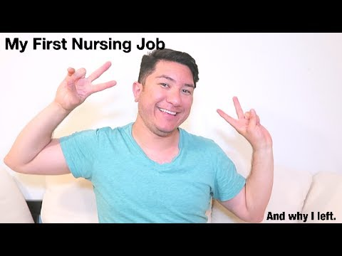 My first nursing job...and why I left.