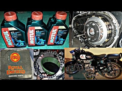How to change Royal Enfield clutch plate At Home/Royal enfield clutch problem in Hindi S ADVICE