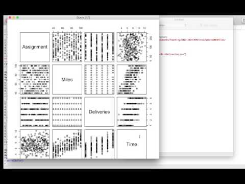 How to run a simple linear regression model in R