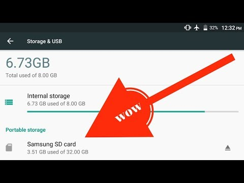 How to increase internal memory of samsung phones( 2018 SOLVED)