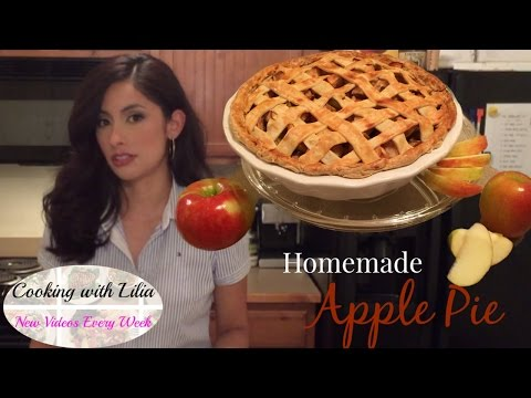 Apple Pie Recipe from Scratch - How to make Apple Pie - Best Apple Pie Recipe (Lattice Pattern)
