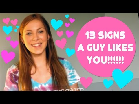SIGNS A GUY LIKES YOU!!!